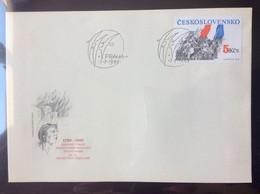 FDC BF 86 1989 Bicentenaire De La Révolution Française  Philexfrance 89 - FDC