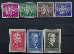 BELGIE 1955    Nr. 979 - 985       Postfris **   CW  70,00 - Nuevos