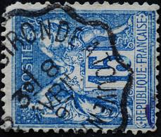 -Sage N°90 Type Ll.( CAD.) AMBULANT. - 1876-1898 Sage (Type II)