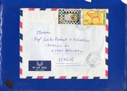 ##(DAN210)- TUNISIA 1991 - Airmail Cover From Beni Hasse To Besozzo-Italy - Tunisia