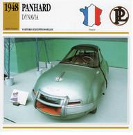 Panhard Dynavia Prototype   -  1948  -  Fiche Technique Automobile (Francaise) - PKW