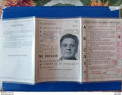 QUAREGNON- HAVRE ROYAUME DE BELGIQUE PERMIS DE CONDUIRE/ NE A QUAREGNON 14/07/1933 DELIVRE 1702/1967 - Sin Clasificación