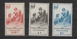 France 1966 Timbre De Bienfaisance PTT 81-83 3 Val ** MNH - Sonstige