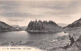 "Lac Lioson - Château-d'Oex Avec Un ""bouèbe"" Boûbe (Jeune Garçon ) Armailli - Animée - Bauern"