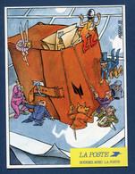 ⭐ France - Carte Postale - Bougez Avec La Poste PTT - 1989 ⭐ - Postal Services