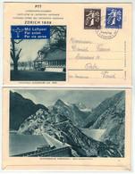 Suisse // Schweiz // 1907-1939 //  Lettre De L'expo National De Zurich 1939 Pour Orbe - Briefe U. Dokumente