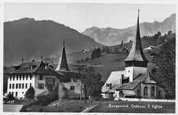 Rougemont Château Et Eglise - VD Vaud