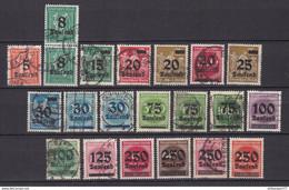 Deutsches Reich - 1923 - Michel Nr. 277/292 + 294/296 - Gestempelt/Postfrisch - Oblitérés