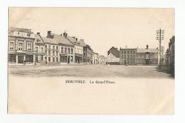 Péruwelz La Grand' Place Carte Postale Ancienne - Péruwelz