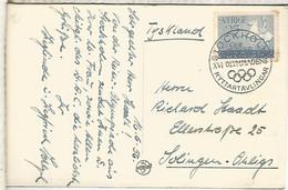 SUECIA STOCKHOLM MAT PRUEBAS HIPICAS JUEGOS OLIMPICOS DE MELBOURNE EQUESTRIAN OLYMPIC - Verano 1956: Melbourne