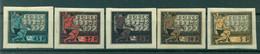 RSFSR 1922 - Y & T N. 170/74 - 5e Anniversaire De La République Des Soviets (Michel N. 195/99 X) - Unused Stamps