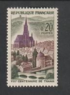 ANNÉE -  1961 -   N° 1308 - 8 éme Centenaire De La Ville De Thann  -   Neuf Sans Charnière - Unused Stamps