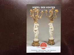 CATALOGUE CRÉDIT MUNICIPAL DE PARIS Ventes Aux Enchères TABLEAUX SCULPTURES ART NOUVEAU MOBILIER OBJETS D'ART - Zeitschriften: Abonnement