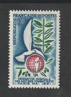 ANNÉE -  1961 -   N° 1292 - Réunion à Paris De  La Fédération Des Anciens Combattants -   Neuf Sans Charnière - Unused Stamps
