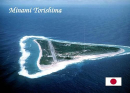 Japan Minami Torishina Aerial View Marcus Island New Postcard - Other