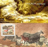 France - Feuillet Bloc Souvenir N° 154 ** La Grotte De Lascaux - Souvenir Blocks & Sheetlets