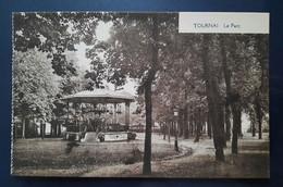 CPA Tournai Le Parc Années 1910 Edition Belge Bruxelles Kiosque à Musique - Tournai
