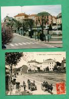69 Rhone Cours La Ville Lot De 2 Cartes Postales Modernes 2000 ( Format 10,5cm X 15cm ) - Cours-la-Ville