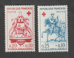 ANNÉE -  1960 -   N° 1278 - 79  - Au Profit De La Croix Rouge  -   Neuf Sans Charnière - Unused Stamps