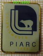 PIARC Ou AIPCR Association Mondiale De La Route   LULEA SWEDEN  SUEDE OURS BLANC - Vereinswesen
