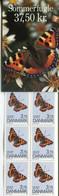 Dänemark Denmark Sondermarkenheft Booklet S65 Postfrisch/MNH - Fauna Butterflies - Boekjes