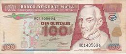 BILLETE DE GUATEMALA DE 100 QUETZALES DEL 29 JUNIO 1994 (BANK NOTE) - Guatemala
