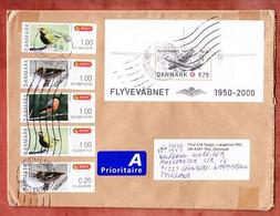 Grossbrief, Block Flugzeug U.a., Tilst Nach Leonberg 2014 (98133) - Cartas