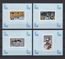 UPPER VOLTA 1980, Mi# 787-790, CV 15€, DeLuxe, Olympics - Inverno1980: Lake Placid