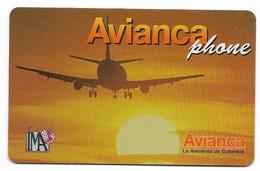 Colombia, Avianca Used Prepaid Phone Card, No Value, Collectors Item. # Colombia-30 - Kolumbien