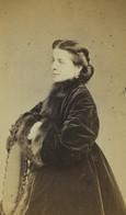 France Paris Jeune Femme Mode Second Empire Ancienne Photo CDV Cremiere 1860's #2 - Oud (voor 1900)