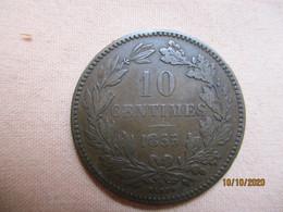 Luxembourg: 10 Centimes 1855 - Lussemburgo