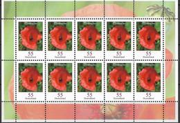 2005  Deutschland Allem. Fed. Mi. 2472 **MNH Blumen :  Klatschmohn (Papaver Rhoeas) - Blocks & Sheetlets