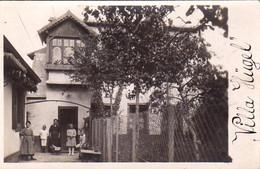 S41-008 Carte Photo - Strasbourg - La Villa Hügel - Envoyée En 1921 à Brumath (Correspondance En Allemand) - Strasbourg