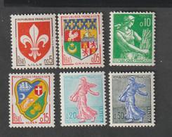 ANNEE -  1960 -  N° 1230 - 34A      -  Type  De  1957 - 59  -  Sauf Le 1234      -   Neufs Sans Charnière - Unused Stamps