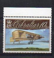 Baroness Raymonde De Laroche (First Woman Pilot) VOISIN Biplane - Aircraft Stamp (Gibraltar 2010) - MNH (1W1630) - Airplanes