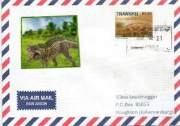 Les Reptiles Mammaliens En Afrique. (Rubidgea) Lettre Envoyée à Johannesburg (Afrique Du Sud) - Prehistorics