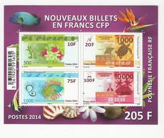 Polynésie Française - 2014 - N°BF40 ** - Blocchi & Foglietti