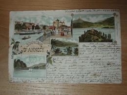 Cpa Souvenir D'Annecy 1894 - Annecy