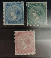 Antillas N 13/15. - Cuba (1874-1898)