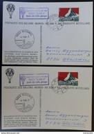 "Schweiz BALLONPOST 1966, Postkarten ""Mungg 2"" BIRWINK - BOSWIL - Andere Documenten"