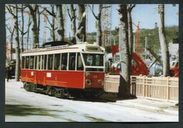 "Carte-photo Moderne ""Tramways Urbains Lyonnais - Tramway Lyon - Tram Années 50"" - Tram"
