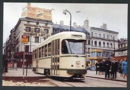 """Carte-photo Moderne """"Tramway De Saint Etienne - Tram Années 50"""" - Tram"""