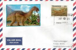 Dinosaure Herbivore Fabrosaurus, Lézard De Fabre , Lettre Envoyée à Johannesburg (Afrique Du Sud) - Prehistorics