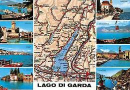 Italy Lago Di Garda Multiviews Limone Riva Malcesine Gardone Peschiera Salo - Other