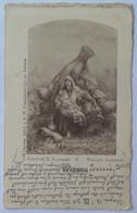 Poland M93 Spring Wiosna 1901 Woman Child Haystack - Poland
