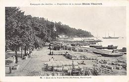 Martinique - SAINT-PIERRE - Quai De La Place Bertin - Ed. Rhum Chauvet 34 - Zonder Classificatie