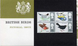 GREAT BRITAIN 1966 British Birds Presentation Pack - Presentation Packs