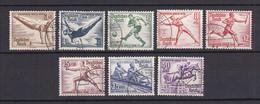Deutsches Reich - 1936 - Michel Nr. 609/616 - Gestempelt - Allemagne