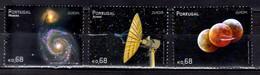 2009 Europa CEPT Astronomy Portugal Azores Madeira 3v MNH** Galaxy, Radio Telescope, Observatory - Europa-CEPT