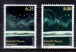2009 Greenland Europa CEPT Astronomy 2v Paper  MNH** MiNr. 525 - 526 Polar Star, Big Bear - Nuovi